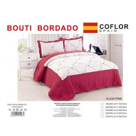 Colcha Bordada Bouti Decora tu habitación